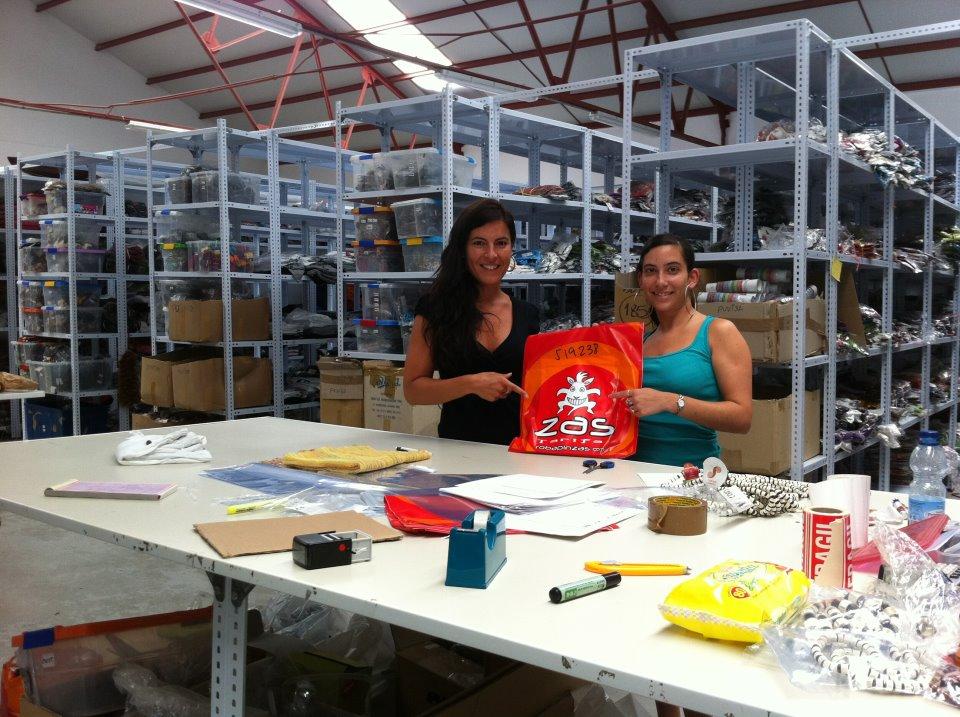 Paola y Mari Carmen