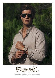 Root Sunglasses Gafas de madera orgánicas, Y tu... ¿De qué mdera estás hecho?