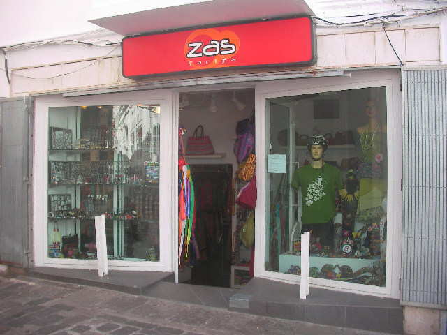 Tiendas que venden cosas de ZAS