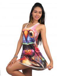En profundidad: Los vestidos con estampados Naif Hiperrealistas . ZAS tu tienda Hippie alternativa