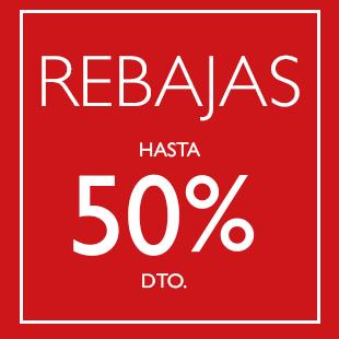 REBAJAS DE INVIERNO HASTA 50%