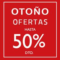 Otoño Ofertas hasta -50% DTO