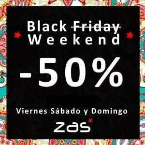 BLACK WEEKEND -50% EN CIENTOS DE ARTÍCULOS HIPPIES
