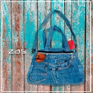 RECYCLED DENIM BAGS and BACKPACKS - NOW CHEAPER