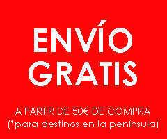 ENVÍO GRATIS para España peninsular y otros destinos