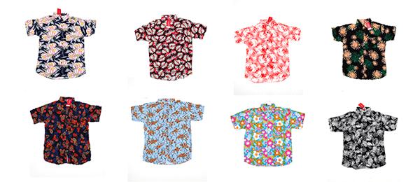 Camisas de flores de hombre