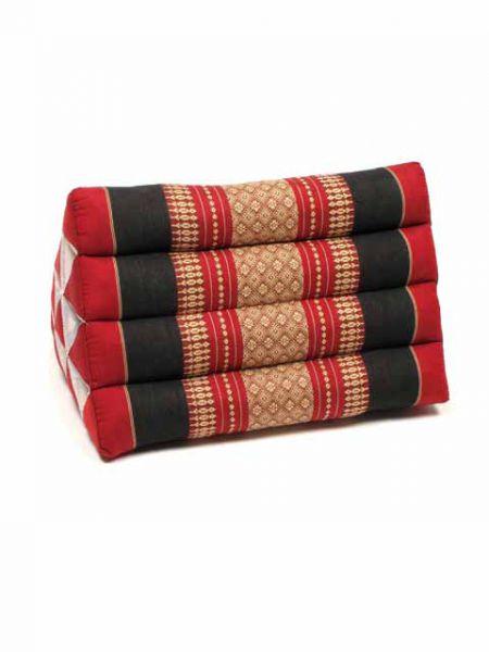 Cojín Triangular Thai Kapok - Rojo Comprar al mayor o detalle