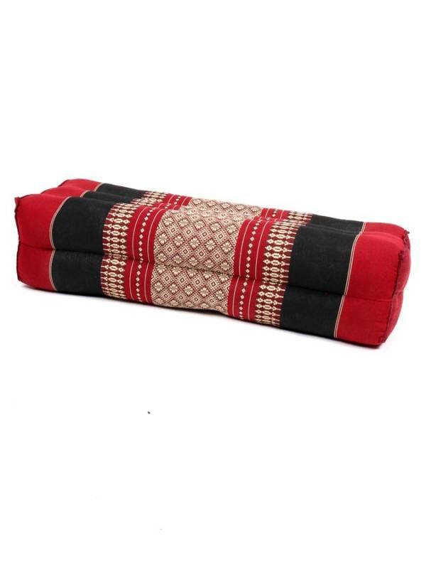 Almohada Cojín rectangular doble Thai Kapok - Rojo Comprar al mayor o detalle
