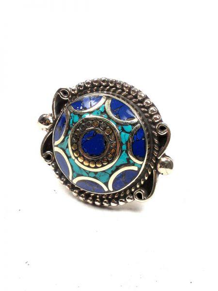 Bisutería Tibetana - Anillo Tibetano Piedras ANAT03 para comprar al por Mayor o Detalle en la categoría de Bisutería Hippie Étnica Alternativa