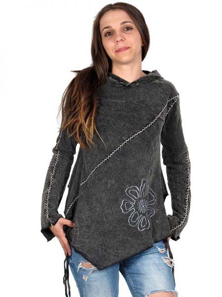 camiseta hippie de algodón lavado a la piedra manga larga,y Comprar - Venta Mayorista y detalle