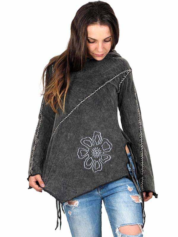 Camiseta Hippie abierta con capucha Comprar - Venta Mayorista y detalle