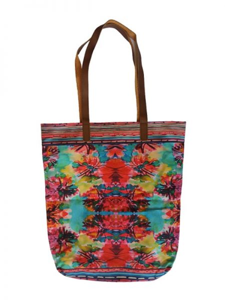 Colección Catkini - Frida Kahlo - Bolso Shoping Estampado Asa Catkini [BOBB01] para comprar al por mayor o detalle  en la categoría de Complementos Hippies Étnicos Alternativos.