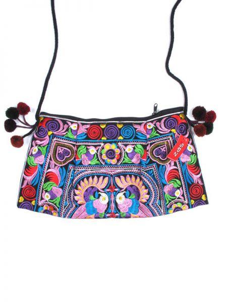 bolso étnico bordado, realizado con telas bordadas a mano con Comprar - Venta Mayorista y detalle