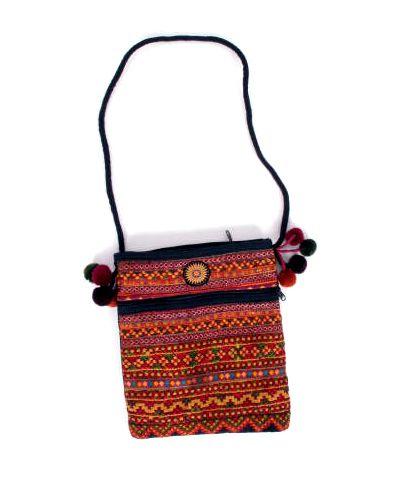 Bolsos y Mochilas Hippies - Bolso pasarportera tribal BOCH15 para comprar al por Mayor o Detalle en la categoría de Complementos Hippies Alternativos