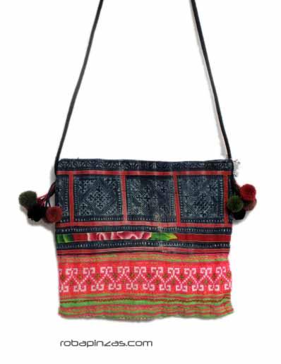 Bolsito de algodón de tejidos étnicos BOCH7 para comprar al por mayor o detalle  en la categoría de Complementos Hippies Étnicos Alternativos.