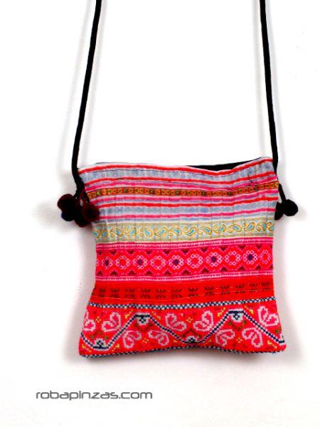 Bolsito de algodón de tejidos étnicos para Comprar al mayor o detalle
