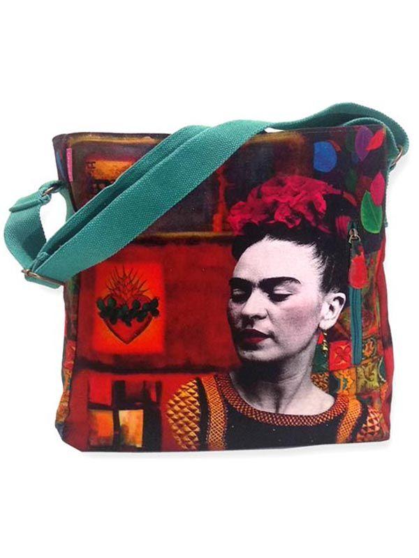 Bolso Grande Estampados Frida Kahlo. [BOCT04] para Comprar al mayor o detalle