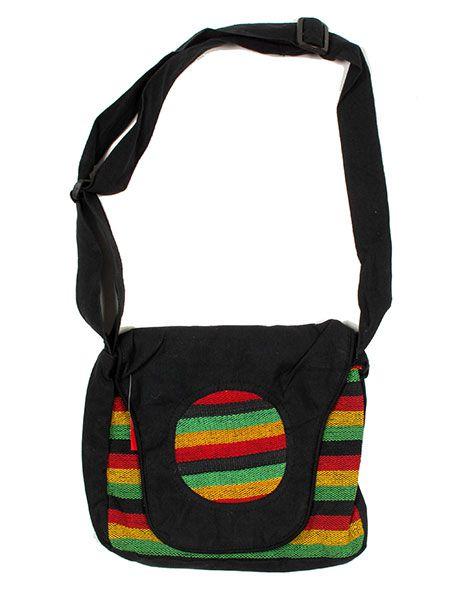 Bolsos y Mochilas Hippies - Bolso Hippie Rasta Multicolor [BOEV01] para comprar al por mayor o detalle  en la categoría de Complementos Hippies Alternativos.