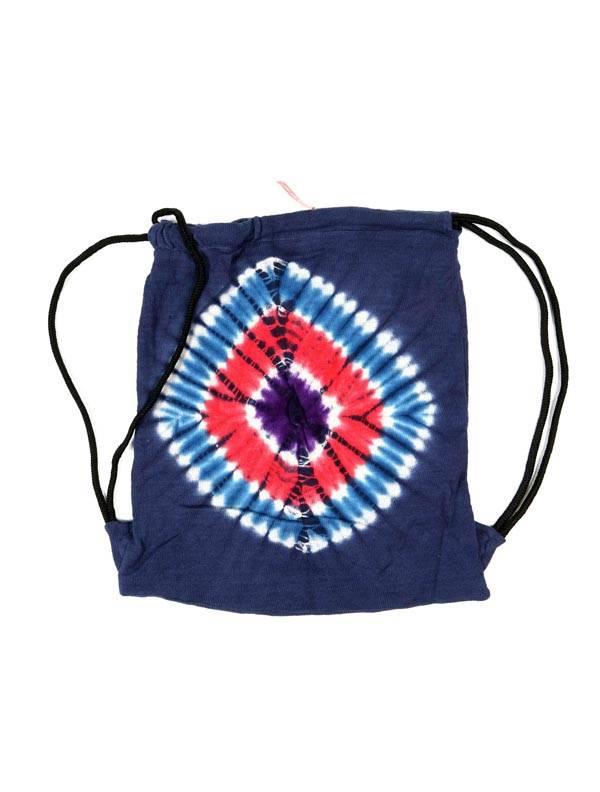 Tie Dye Strickrucksack. [BOHC11], um Großhandel oder Detail in der Kategorie Hippie-Taschen und Rucksäcke zu kaufen