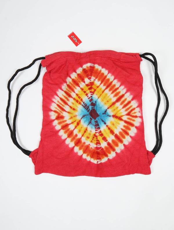 Mochila Tie Dye de Punto. - Rojo Comprar al mayor o detalle