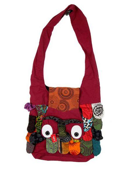 bolso buho bandolera grande, bolso realizado en algodón con Comprar - Venta Mayorista y detalle