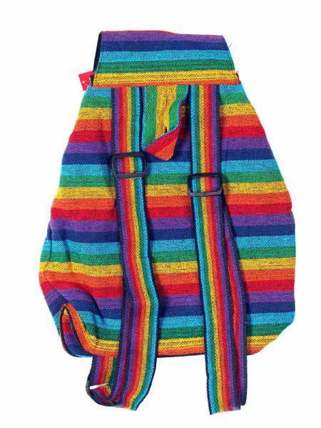 Mochilla Hippie Rasta Multicolor - Detalle Comprar al mayor o detalle