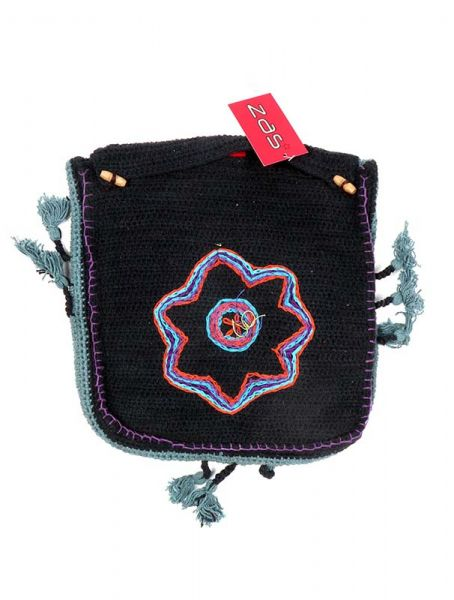 Bolsos y Mochilas Hippies - Bolso Hippie de Ganchillo Star [BOHC26] para comprar al por mayor o detalle  en la categoría de Complementos Hippies Alternativos.