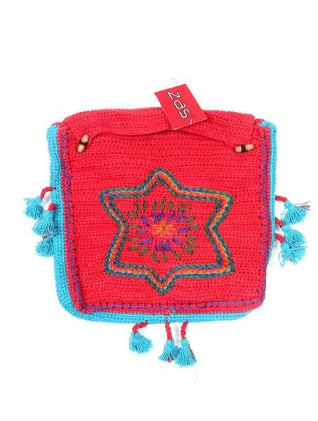 Bolso Hippie de Ganchillo Star [BOHC26] para Comprar al mayor o detalle