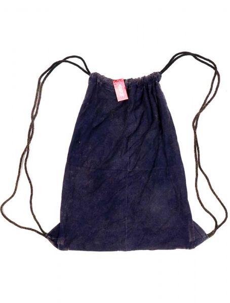 Mochila de algodón lavada piedra BOHC26B para comprar al por mayor o detalle  en la categoría de Complementos Hippies Étnicos Alternativos.