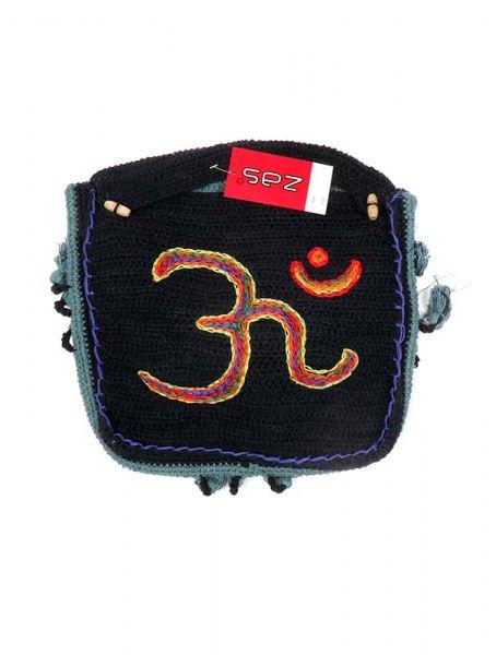 Bolsos y Mochilas Hippies - Bolso Hippie de Ganchillo Om [BOHC27] para comprar al por mayor o detalle  en la categoría de Complementos Hippies Alternativos.