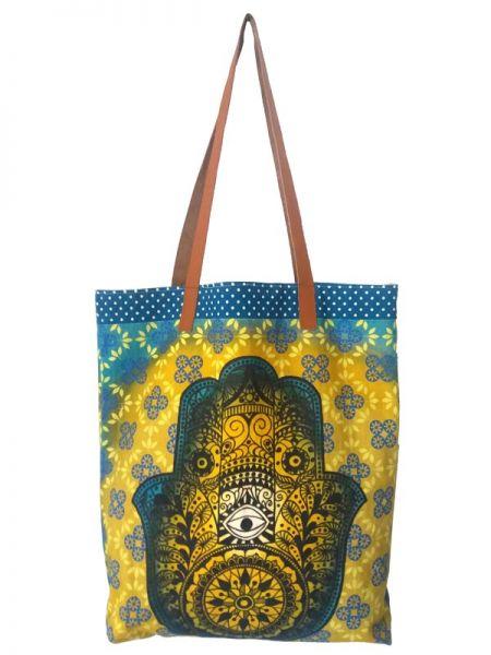 Colección Catkini - Frida Kahlo - Bolso Shoping Estampado de Catkini [BOIBB01] para comprar al por mayor o detalle  en la categoría de Complementos Hippies Étnicos Alternativos.