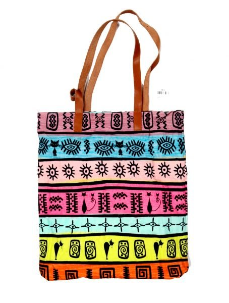 Bolso Shoping Estampado de Catkini - Comprar al Mayor o Detalle