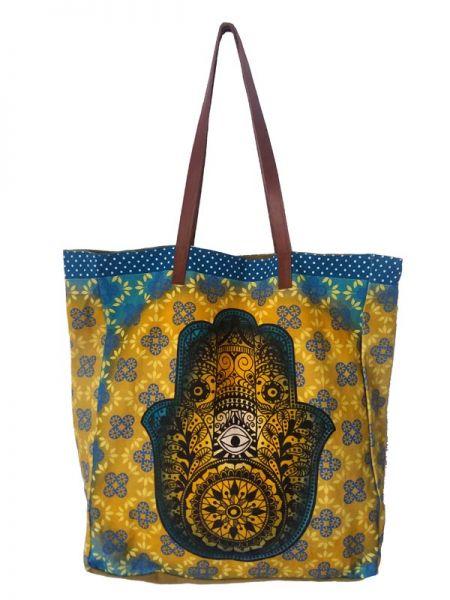 Colección Catkini - Frida Kahlo - Bolso Container con Estampados de Frida Kahlo by Catkini [BOIBC01] para comprar al por mayor o detalle  en la categoría de Complementos Hippies Étnicos Alternativos.