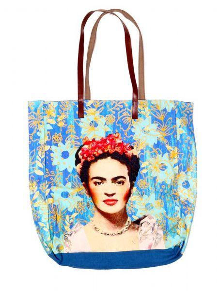 Bolso Container con Estampados de Frida Kahlo by Catkini Comprar - Venta Mayorista y detalle