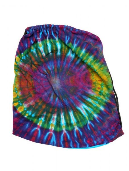Bolso sencillo estampado tie dye de colores, con cordón de Comprar - Venta Mayorista y detalle