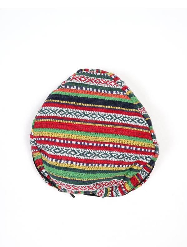 Mochila plegable de rayas multicolores - Detalle Comprar al mayor o detalle