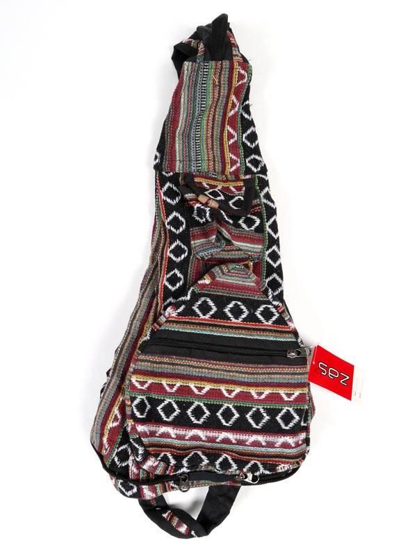 Mochila plegable de rayas multicolores [BOKA07] para comprar al por Mayor o Detalle en la categoría de Bolsos y Mochilas Hippies