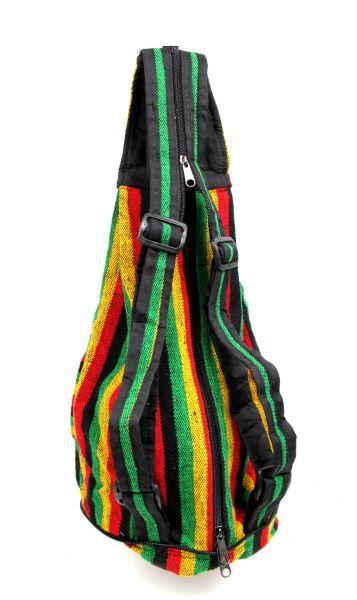 Bolsos y Mochilas Hippies - Mochila plegable de rayas BOKA07.