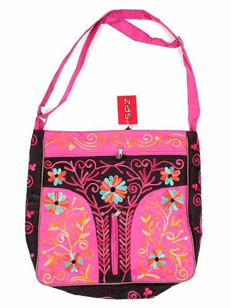 Bolso de piel de melocotón Cuadrado grande BOKA10 para comprar al por mayor o detalle  en la categoría de Complementos Hippies Étnicos Alternativos.