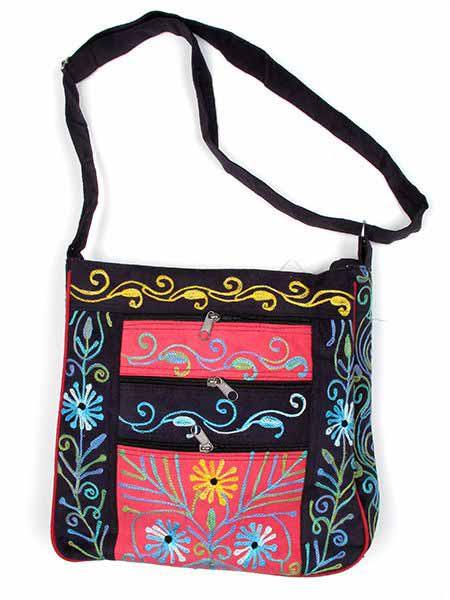 Bolsos y Mochilas Hippies - Bolso de piel de melocotón BOKA12.