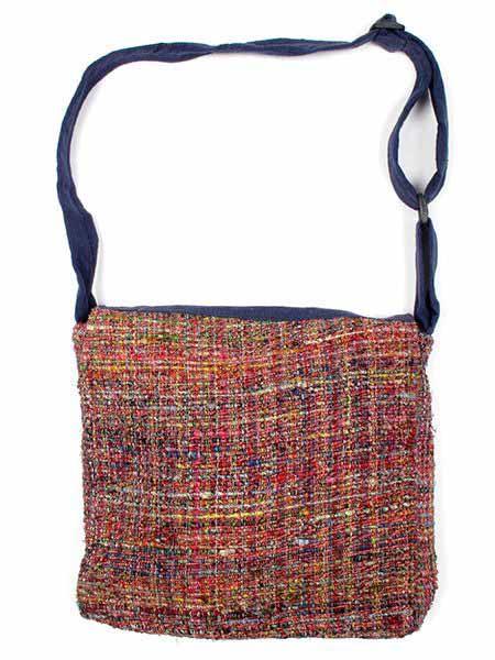 Bolso de Hippie de seda reciclada BOKA13 para comprar al por mayor o detalle  en la categoría de Complementos Hippies Alternativos.
