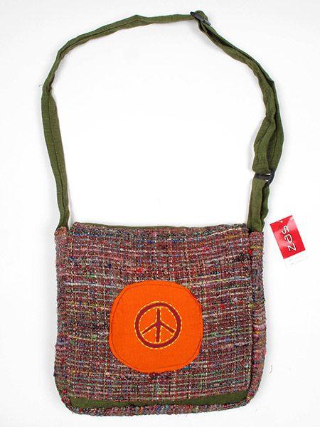 Bolso de Hippie de seda reciclada BOKA13 para comprar al por mayor o detalle  en la categoría de Complementos Hippies Étnicos Alternativos.