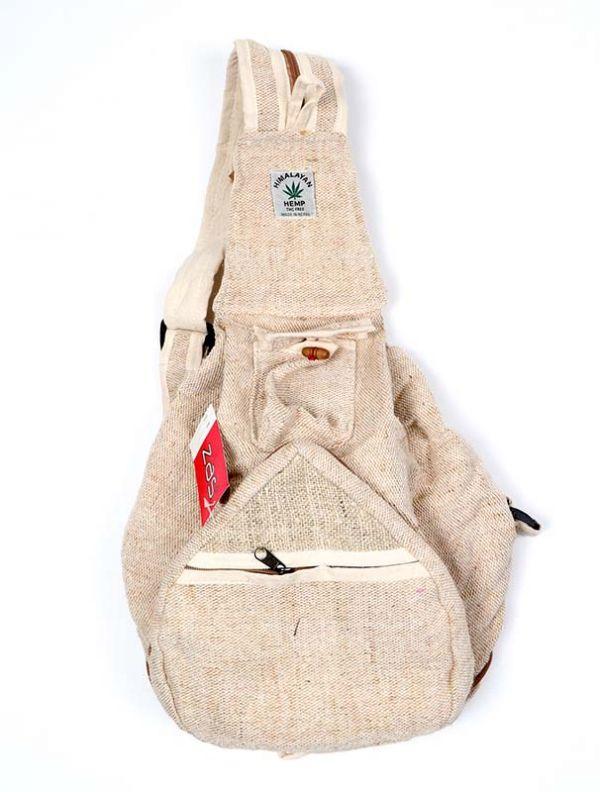 Bolsos Mochilas y Riñoneras de Cáñamo - Mochila de Cáñamo Plegable BOKA14 para comprar al por Mayor o Detalle en la categoría de Complementos Hippies Alternativos