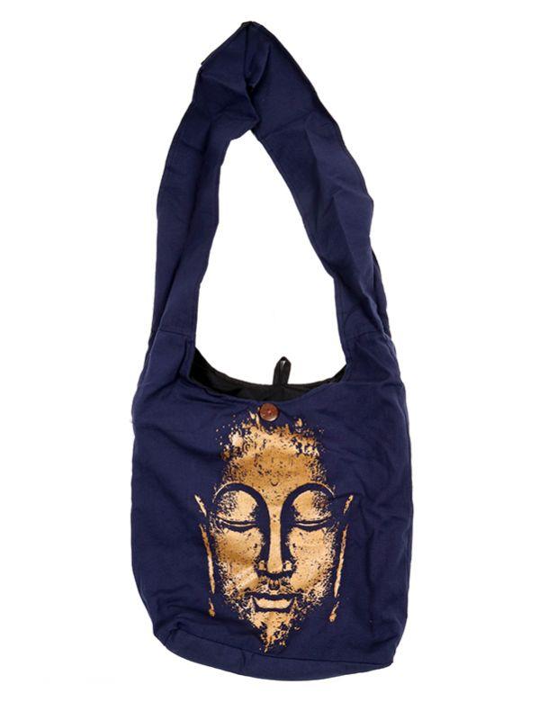 Bolso bandolera grande Buda BOKA22-B para comprar al por mayor o detalle  en la categoría de Complementos Hippies Étnicos Alternativos.