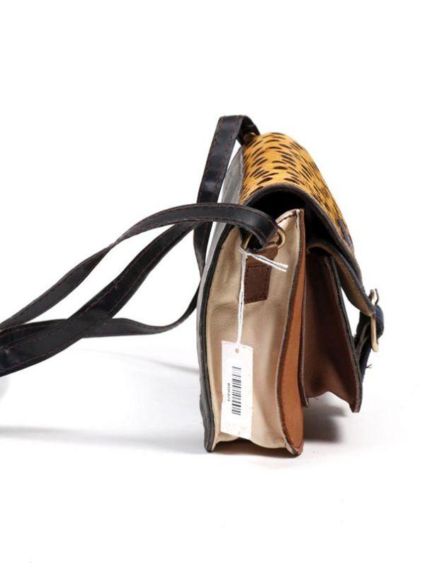Bolso de cuero Reciclado con bolsillo frontal - Detalle Comprar al mayor o detalle