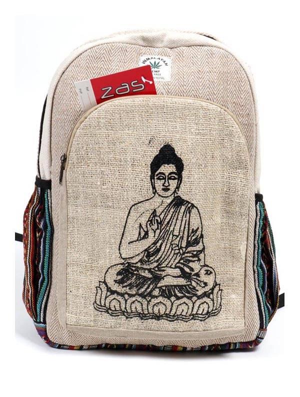 Mochila de Cáñamo Grande - Buda Comprar al mayor o detalle