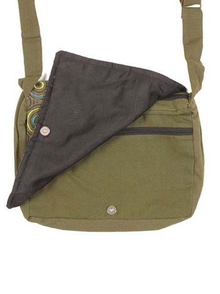 bolso mensajero espiral.bolso tipo messenger bag 100% algodón Comprar - Venta Mayorista y detalle