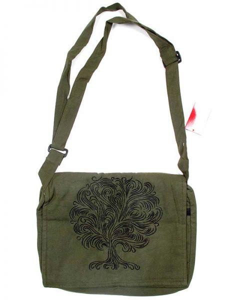 Bolso hippie con bordado arbol, dispone de varios bolsillos y compartimentos Comprar - Venta Mayorista y detalle