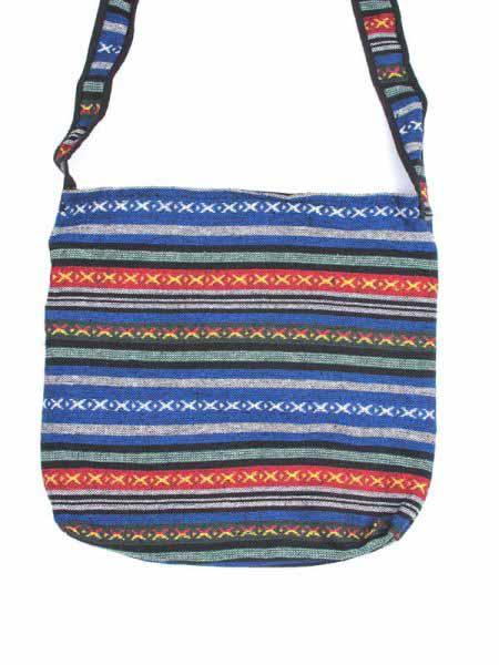 Bolso hippie étnico grande, bolso tipo bandolera realizado con telas Comprar - Venta Mayorista y detalle