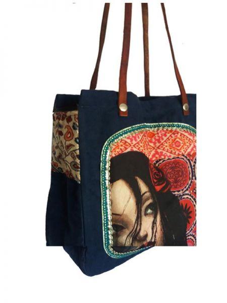 Bolso Frida Kahlo Asa Catkini - Detalle Comprar al mayor o detalle